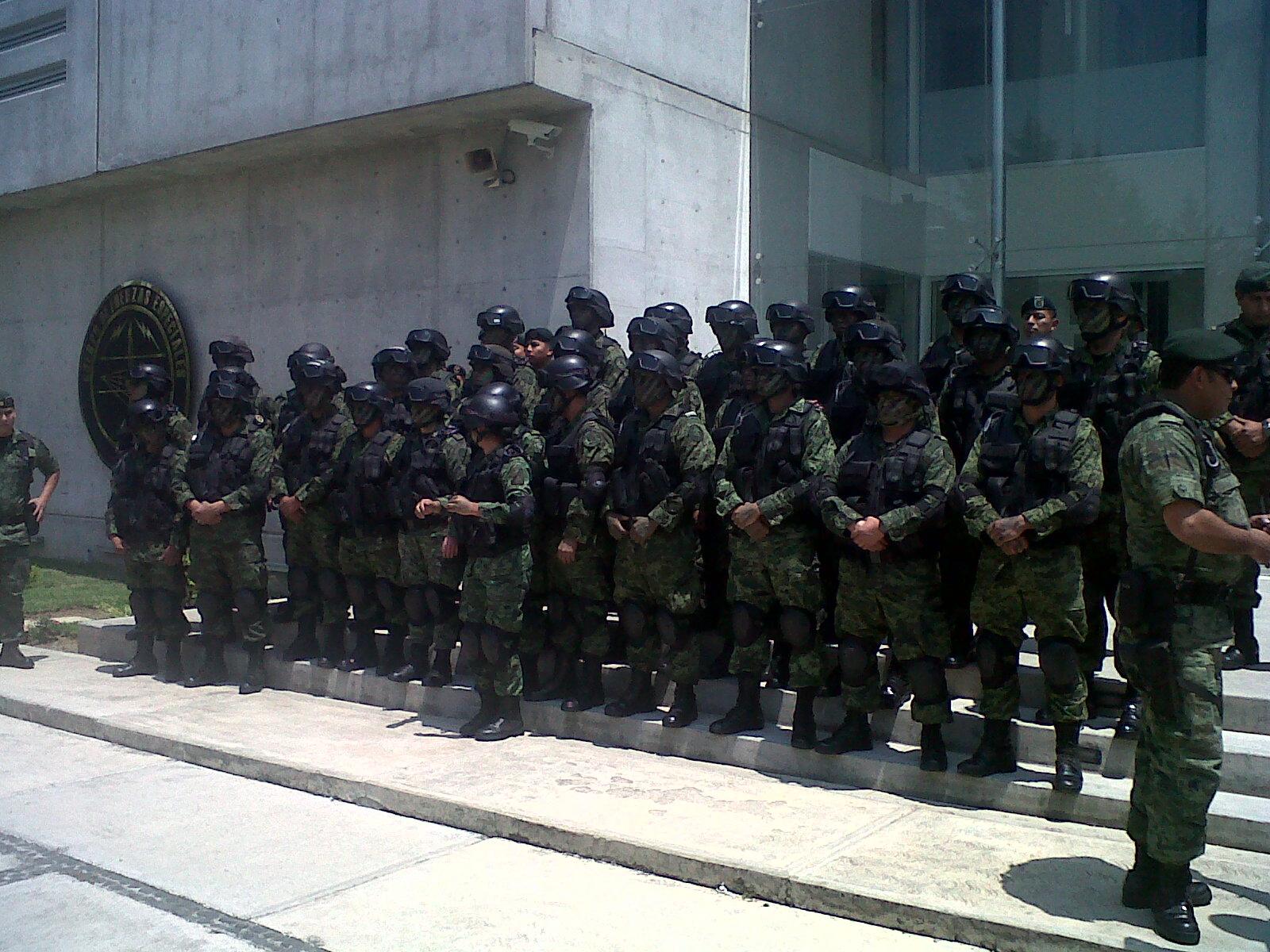 grupo elite ejercito mexicano: