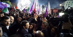 Alexis Tsipras en la victoria electoral de Syriza (Foto: web Syriza)