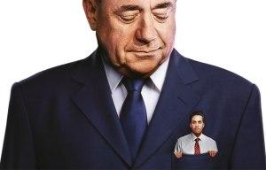 Ed Miliband en el bolsillo de Alex Salmond. Cartel de campaña del Partido Conservador. (Fuente: https://www.conservatives.com/)